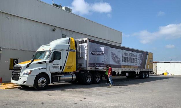 Reinician la gira Freightliner; se adapta a la nueva normalidad