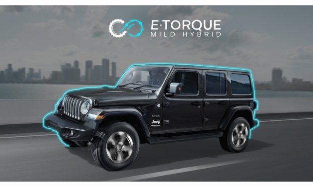 Ya está disponible Jeep Wrangler eTorque Mild-Hybrid 2021