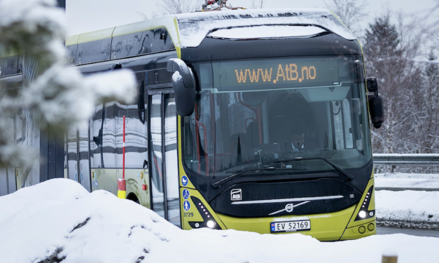 Circularán autobuses eléctricos Volvo al norte del Círculo Polar Ártico