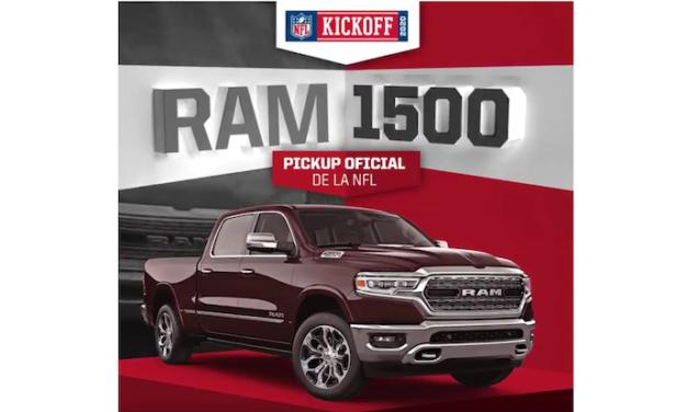 RAM y Dodge siguen como vehículos oficiales de la NFL