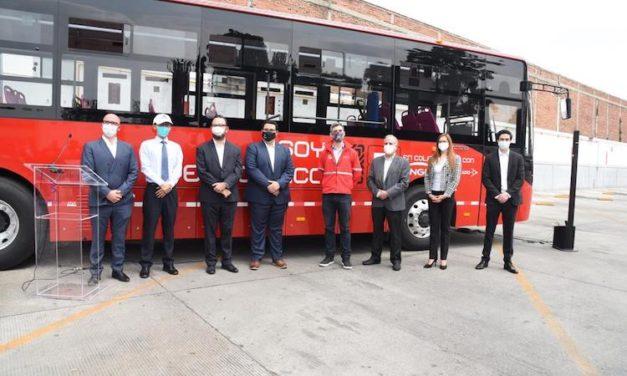 Presentan autobús eléctrico del Metrobús