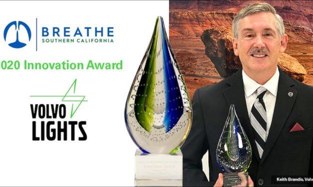 Otorgan premio a la innovación al proyecto Volvo LIGHTS