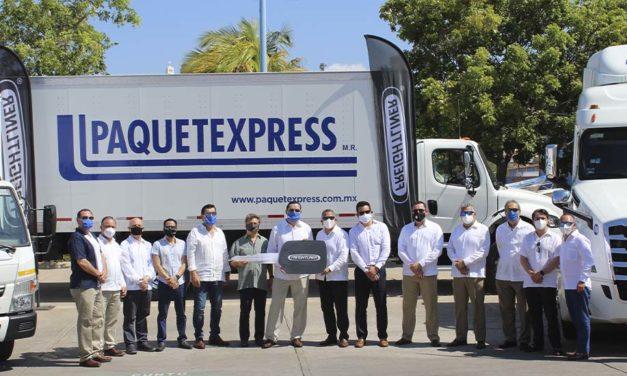 Fortalecen flota de Paquetexpress 77 nuevos Freightliner