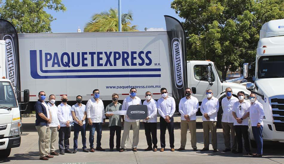 77 nuevos Freightliner fortalecen flota de Paquetexpress