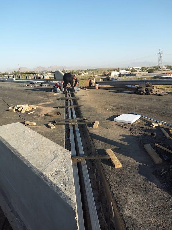 Continúa reconstrucción de Puentes Pemex