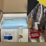 Empleados de Pirelli México reciben kit anti COVID