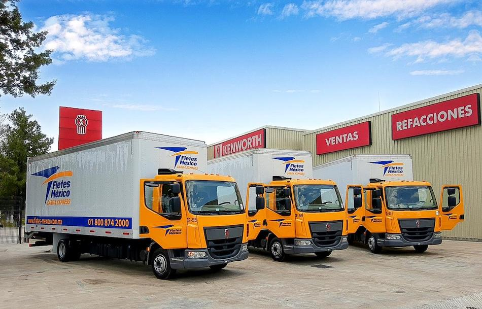 Fletes México Carga Express adquiere camiones KW55