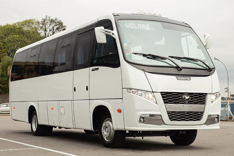 Autobús Volare BioSafeya está en Argentina