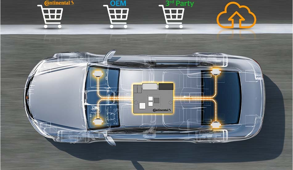 ID.3 de Volkswagen conectado con tecnología Continental