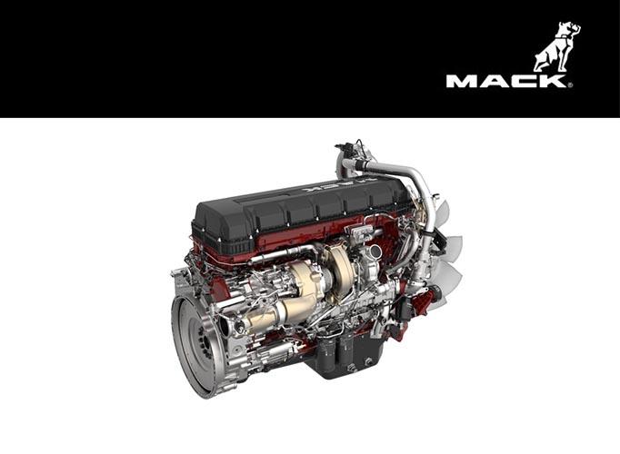 Nueva versión del motor Mack MP 8HE
