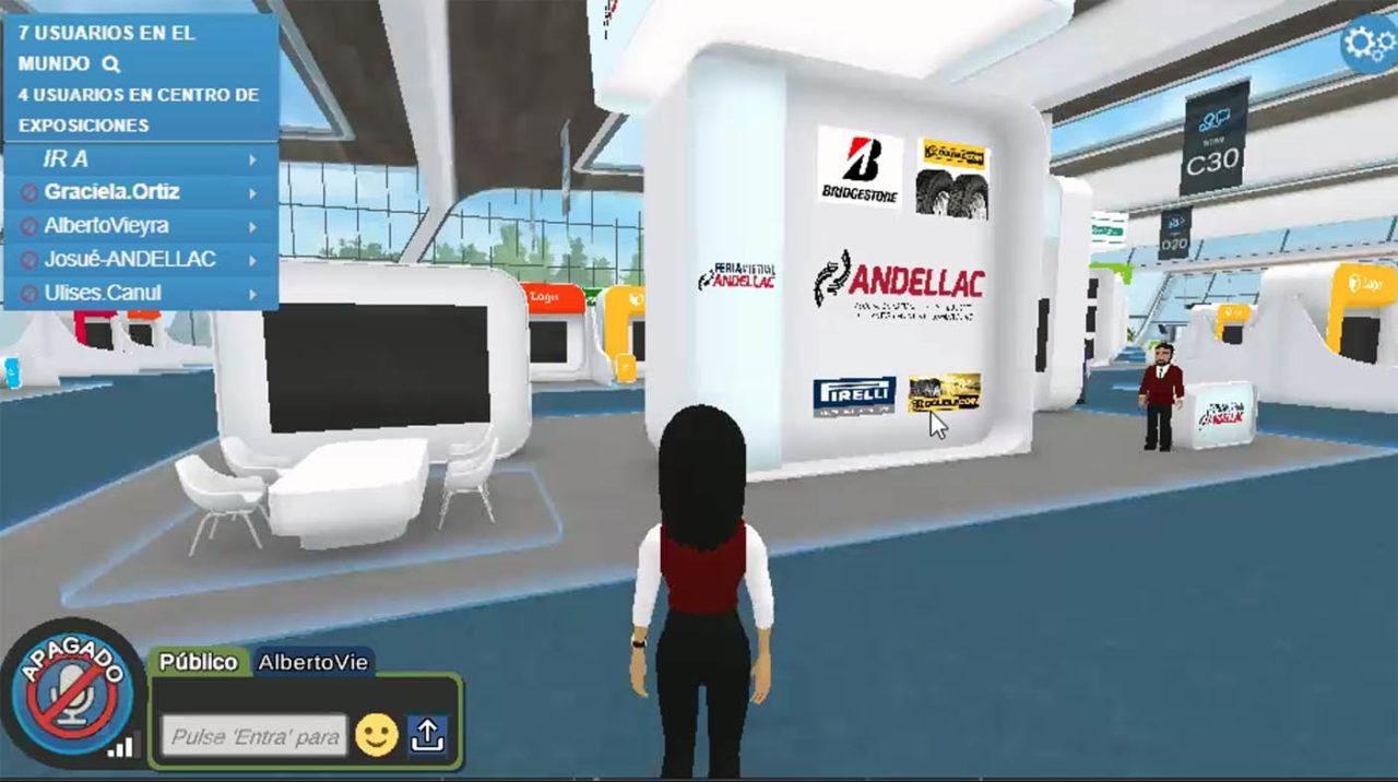 Las principales marcas en Feria Virtual Andellac