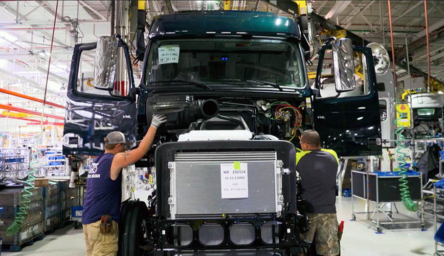 Mercado de camiones Clase 8 en recuperación