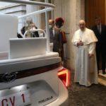 El nuevo Papamóvil es un Mirai de Toyota, impulsado por hidrógeno