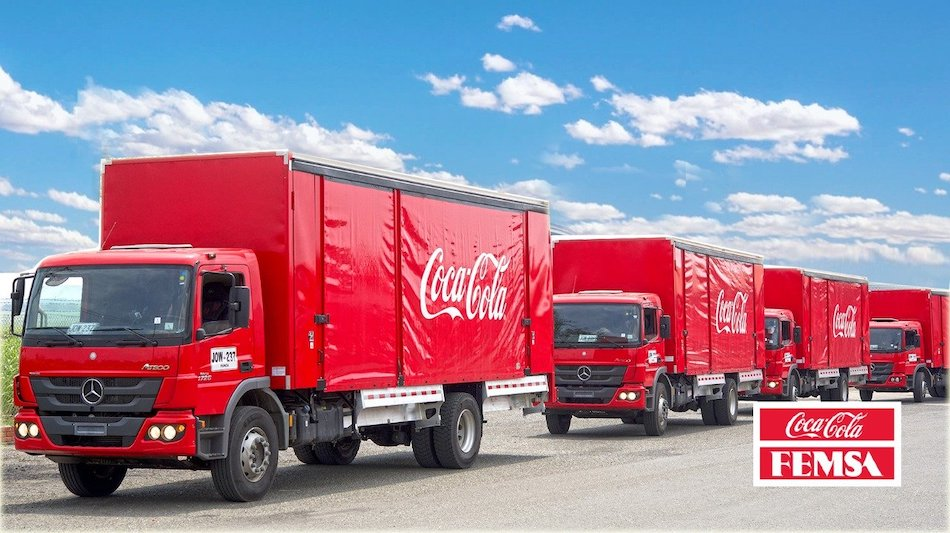48 Atego renuevan flota de Coca-Cola FEMSA