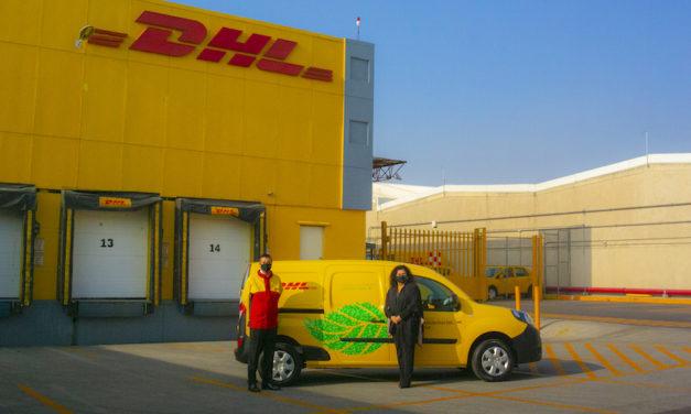 DHL México introduce su primera flotilla eléctrica