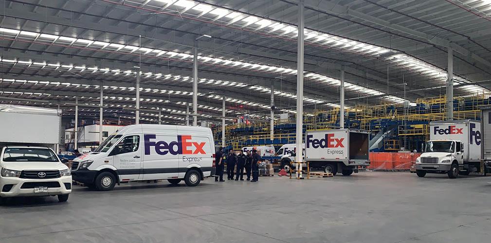 Para temporada alta ya se prepara FedEx México
