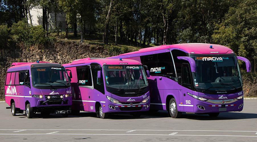Grupo CIVA suma 32 vehículos Marcopolo