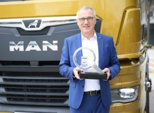 MAN TGX es nombrado Camión del año 2021