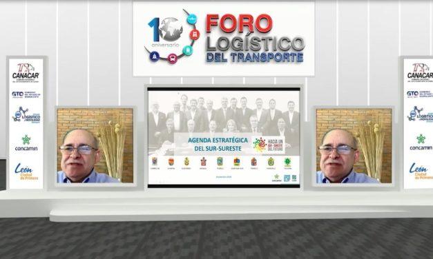 Sureste potencializará corredores logísticos