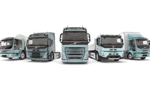 Línea completa de camiones eléctricos Volvo en 2021