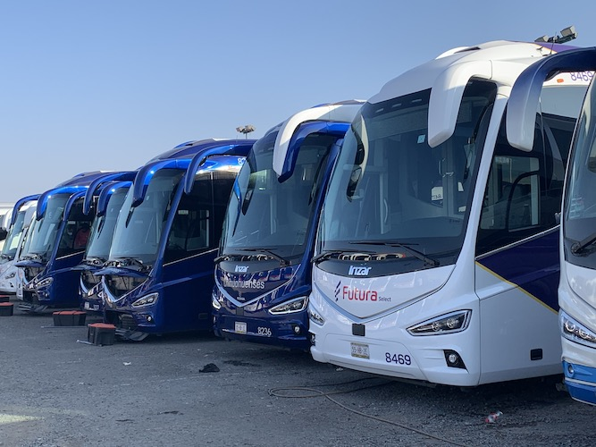 33 autobuses Scania 3