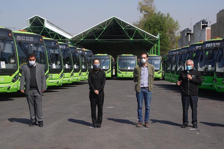 87 buses Volvo entran en operación en RTP