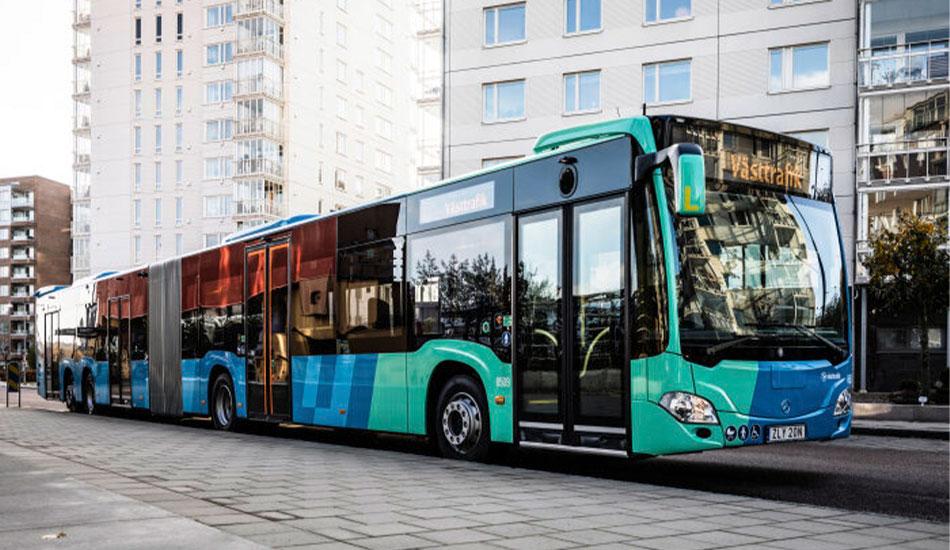 Articulado de Mercedes-Benz para Suecia