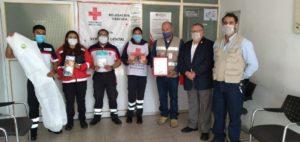 Socias de AME ayudan en emergencia sanitaria