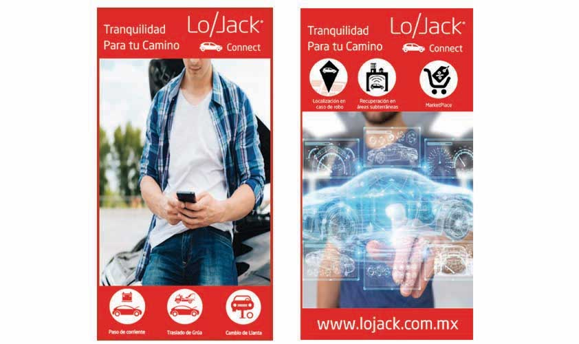 LoJack Connect seguridad para mercado familiar