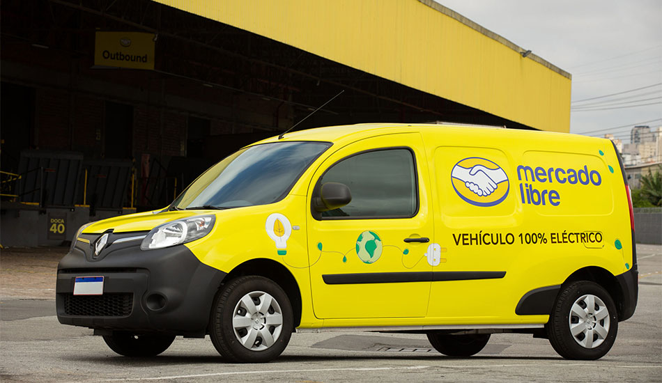 Mercado Libre tendrá flota eléctrica Renault