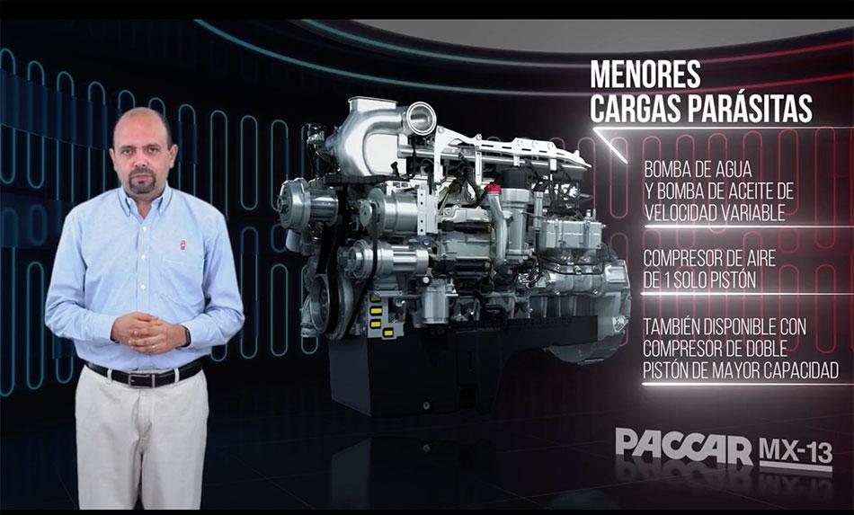 Confiabilidad y eficiencia definen al motor PACCAR