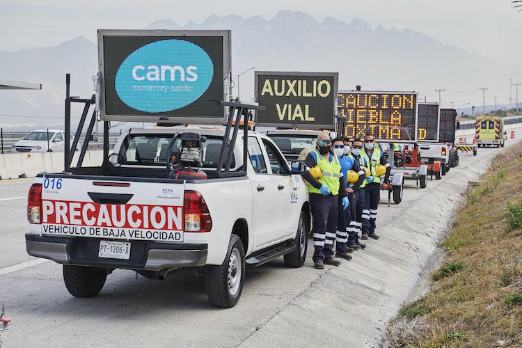 Refuerzan seguridad de Autopista Monterrey-Saltillo