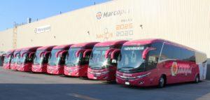 33 autobuses Scania para Estrella Blanca