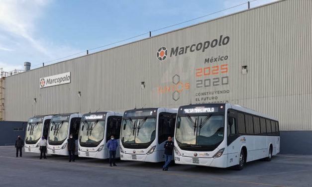TouringCoach recibe 5 buses urbanos Scania