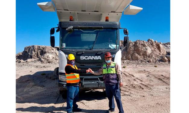 2 unidades Heavy Tipper Scania para COMSA
