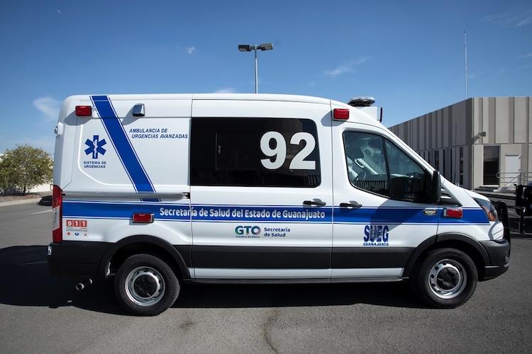 5 ambulancias refuerzan Urgencias de Guanajuato