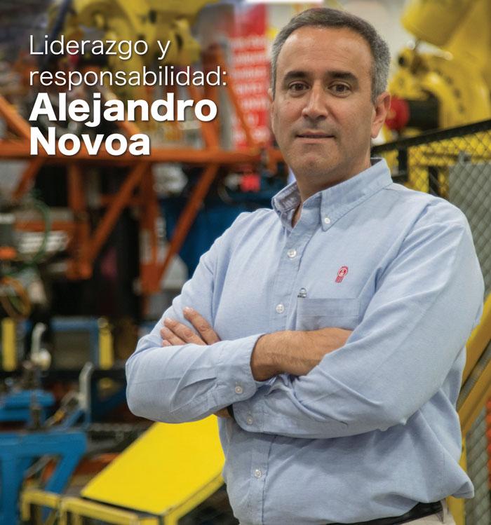 Liderazgo y responsabilidad: Alejandro Novoa