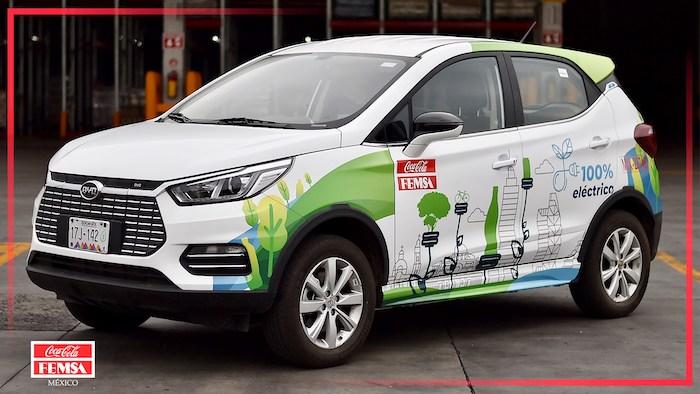 Coca-Cola FEMSA incorporó vehículos eléctricos a su flota