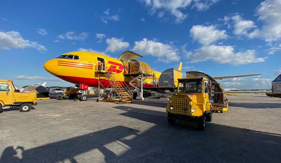 DHL participa en la logística para entregar vacunas