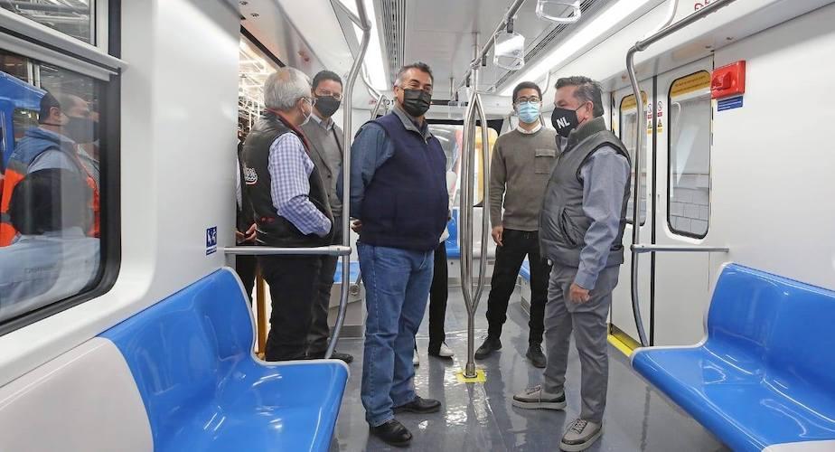 Los nuevos vagones del Metrorrey iniciaron las pruebas