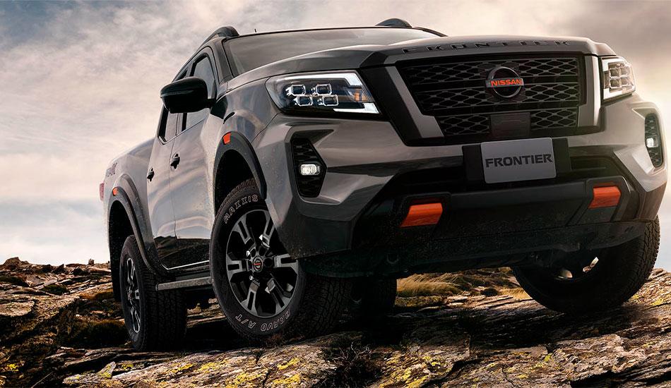 Nissan Frontier, una pickup conectada