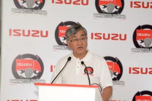 Cambio de director operativo en Isuzu México