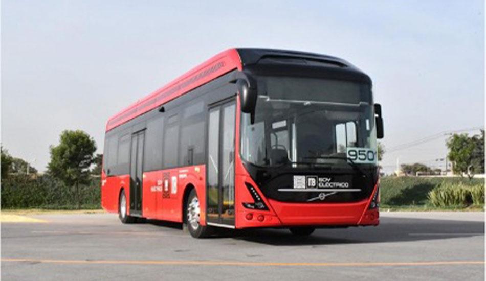 A prueba el primer autobús eléctrico Volvo