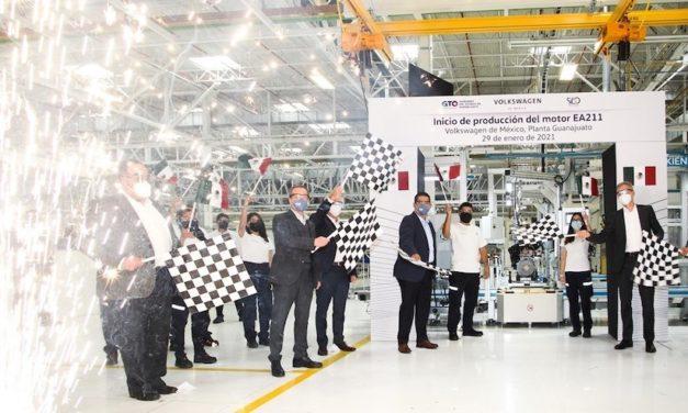 VW Silao inicia producción de motor vanguardista
