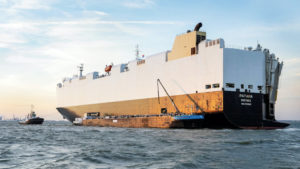 Fuel from waste: Volkswagen powers car freighters with used oil
