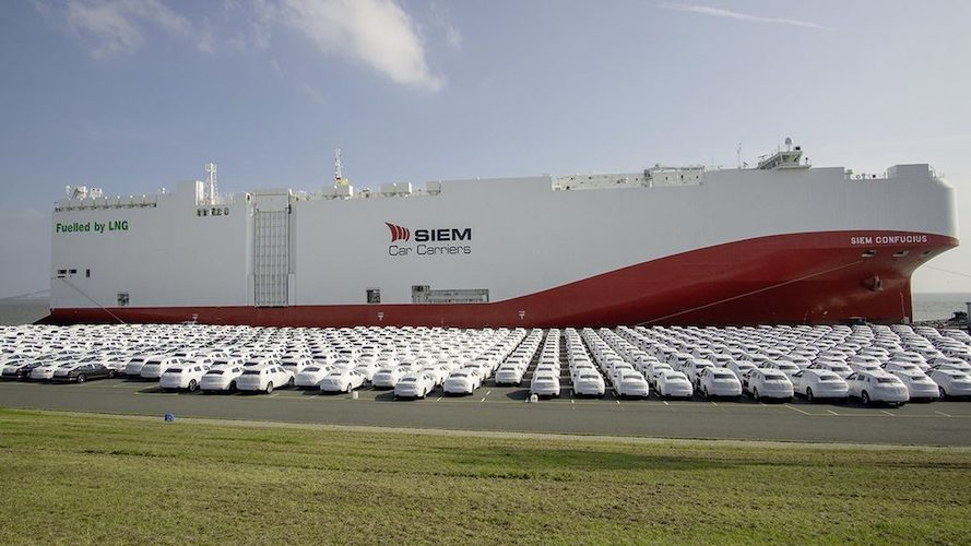 Veracruz recibe car carriers más grandes del mundo