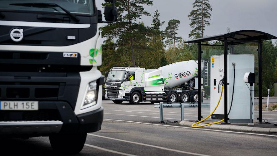 Volvo Energy para soluciones de carga y baterías