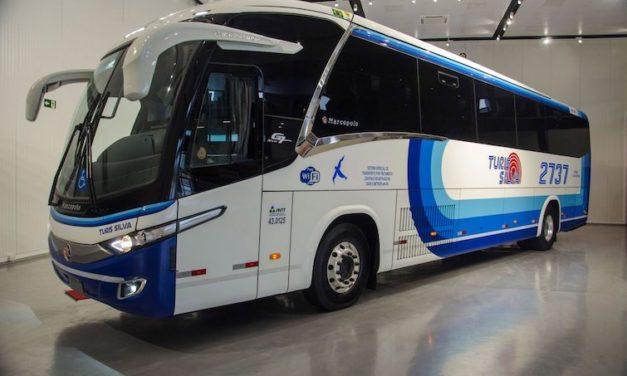 Autobús foráneo a GNC de Scania y Marcopolo