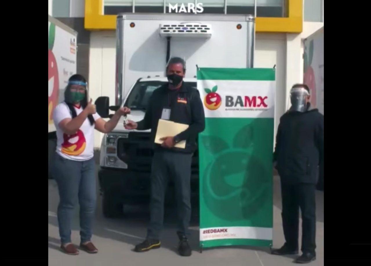 BAMX adquiere 4 vehículos con donativo de Mars