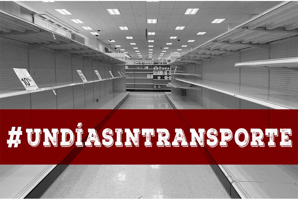 Convoca Canacar a #UnDíaSinTransporte